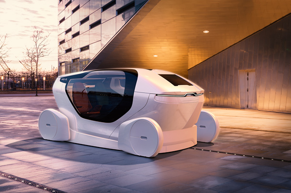 NEVS InMotion自动驾驶概念车
