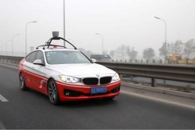百度无人驾驶车北京五环路测,最高速100km/h