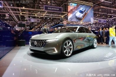 2017日内瓦车展:正道H600概念车发布