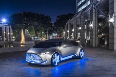 奔驰自动驾驶概念车Vision Tokyo亮相东京车展