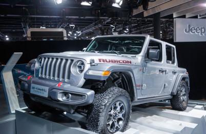 Jeep全系SUV齐聚北京车展,全新一代牧马人首次亮相