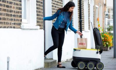 自动送货机器人很快将走上华盛顿的街头
