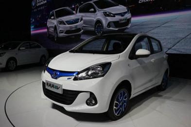 新奔奔EV、新逸动EV、新逸动蓝动版,长安汽车三款新能源车型上市