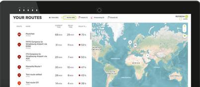 TomTom发布路径监控服务,打造智能城市减少交通拥堵