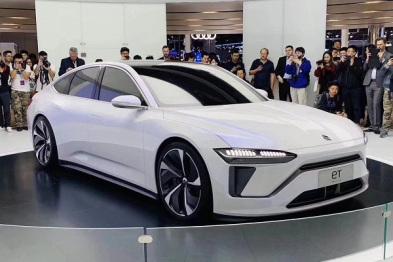 蔚来:第一款轿车来了丨上海车展