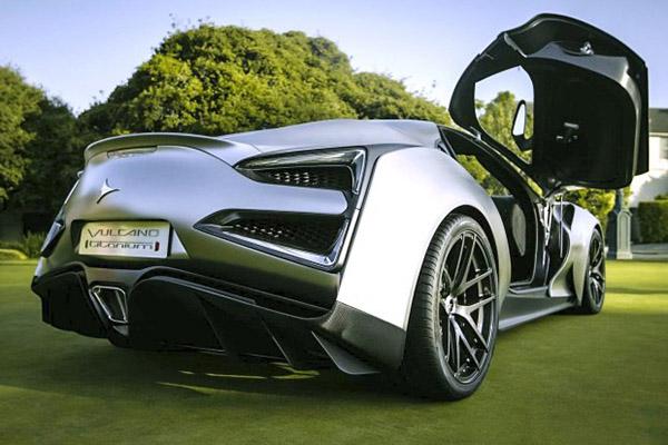 全球首辆完整钛构造车身超级跑车即将亮相