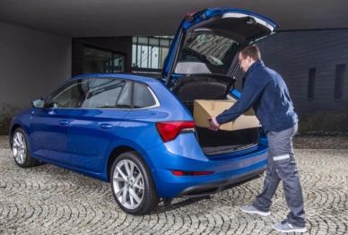 斯柯达在捷克试点车载包裹快递服务