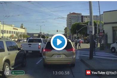 通用CEO拼了,亲测自动驾驶路试(视频)