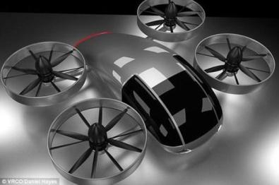 英国将在2020年推出自动驾驶飞行汽车