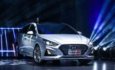 北京现代新一代ix35及全新索纳塔上海车展发布