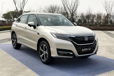 东风本田UR-V发布,将于3月18日正式上市