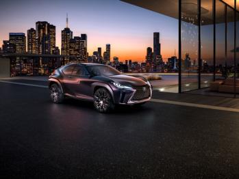 雷克萨斯UX巴黎车展首发,紧凑型SUV中的新流派?