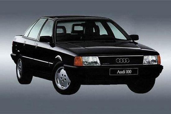 最初进入中国市场的奥迪100车型