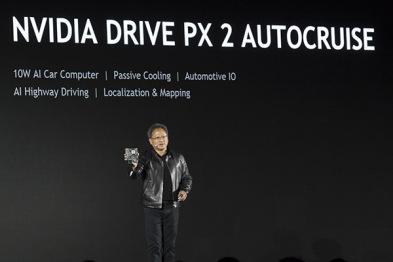 NVIDIA针对自动驾驶汽车推出小型AI计算机