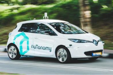 NuTonomy在新加坡推出无人驾驶出租车服务