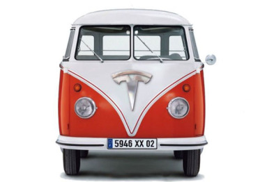 特斯拉微型巴士明年发布,采用Model X底盘