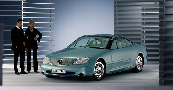 1995年巴黎车展展出的奔驰M-BF200概念车