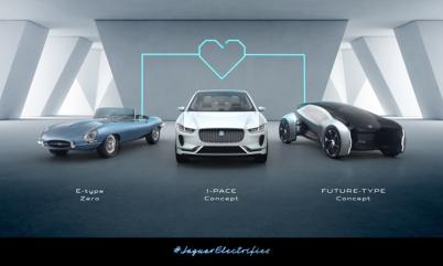 2020年全系车型提供电动版本 ,捷豹路虎电动化战略加速