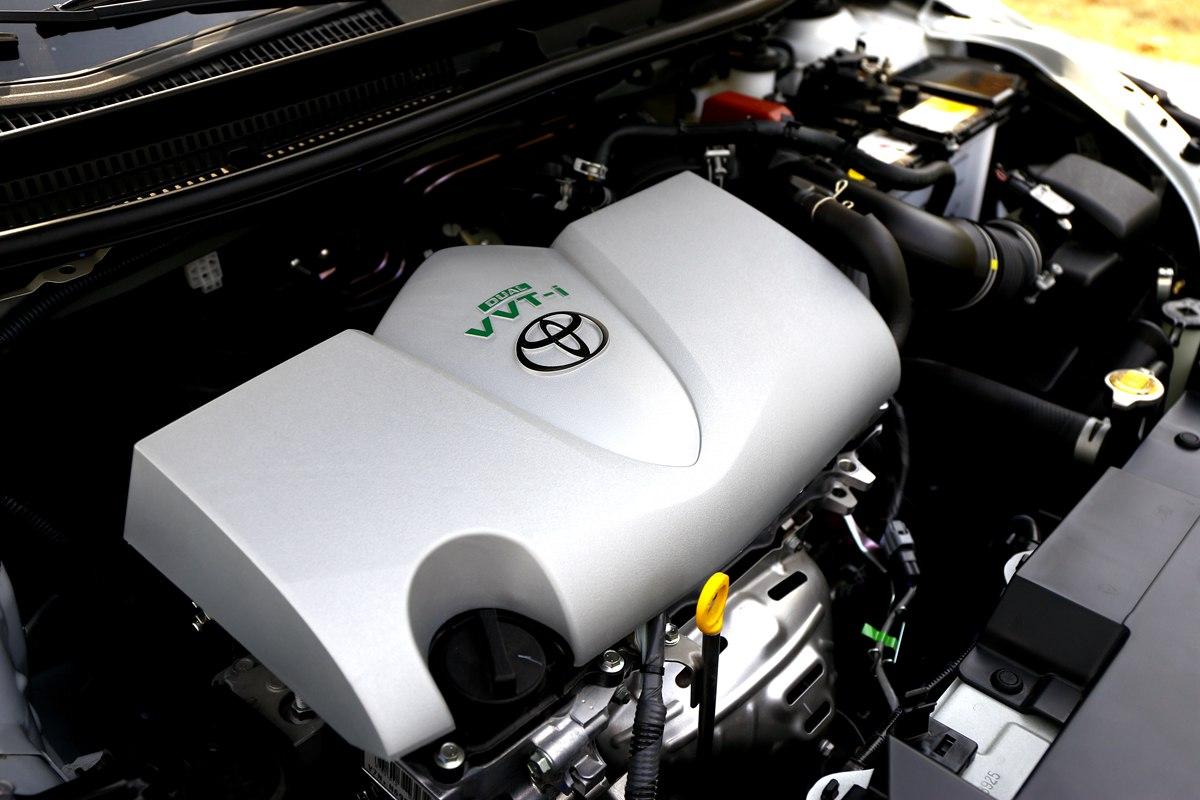 绿色的VVT-i,是低油耗的象征