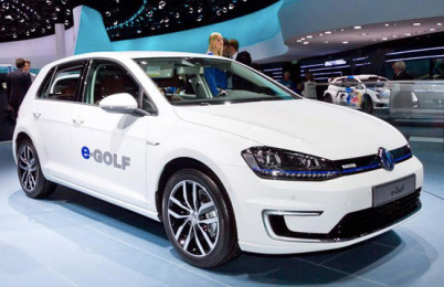 大众引入三款新能源车,电动高尔夫9月上市