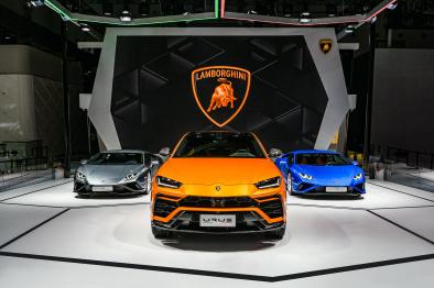 兰博基尼超级SUV Urus全新珍珠漆特别版于成都车展完成全球首次亮相