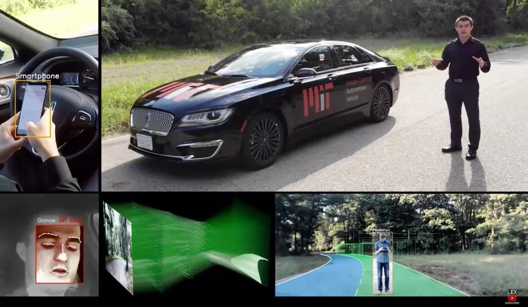 MIT 进行的「人机共驾」研究,右上角为试验车辆「Black Betty」| MIT