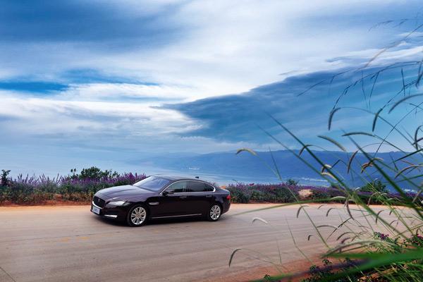 捷豹XFL车型的风阻系数为0.29
