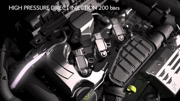 1.2THP发动机200巴高压燃油直喷技术