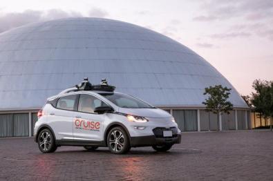 通用汽车联手Cruise发布首款量产无人驾驶汽车