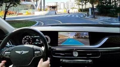 现代推新型信息娱乐系统,结合AR导航/车载支付/手写识别触控板