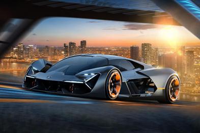 兰博基尼发布全新概念跑车Terzo Millennio