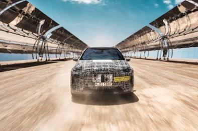 宝马集团未来技术旗舰BMW iNEXT在南非进行极端环境测试 为2021年量产做足准备