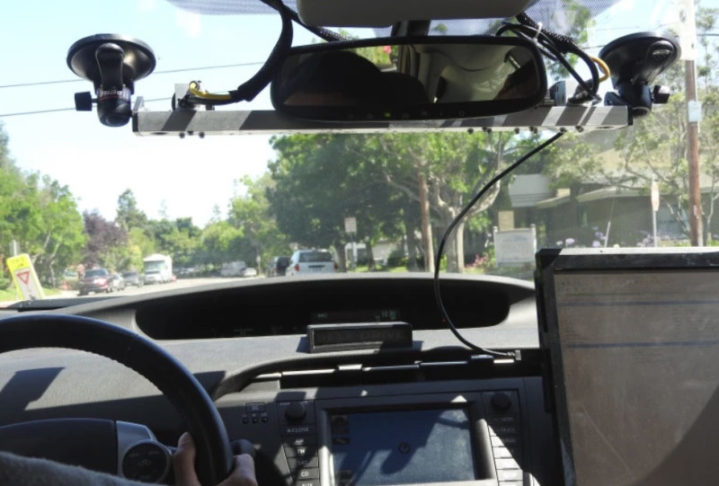 欧洲公司Almotive测试无人驾驶,地点选在了硅谷最繁忙的101高速公路-汽车氪
