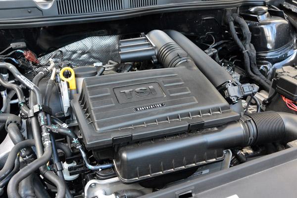 蔚领搭载1.4T涡轮增压发动机