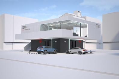 奥迪将建设休息室式电动汽车充电网络