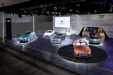全新欧陆GT Mulliner敞篷版于广州车展上演中国首秀