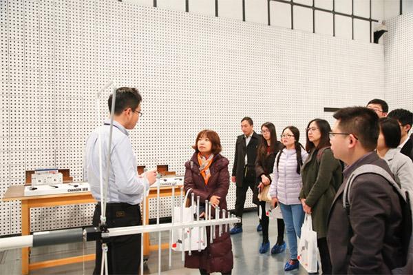 村田电磁兼容实验中心参观