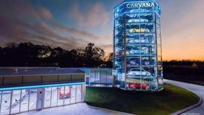 Carvana在匹兹堡发布车辆贩售机器