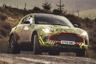 阿斯顿马丁首款SUV定名DBX,将2019年正式发布