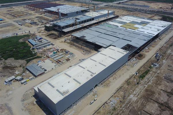 威马温州工厂全景