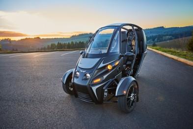 美国Arcimoto推出三轮电动车,百公里加速7.5秒