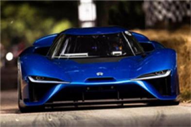 蔚来EP9创造古德伍德爬坡赛量产电动汽车最快圈速纪录