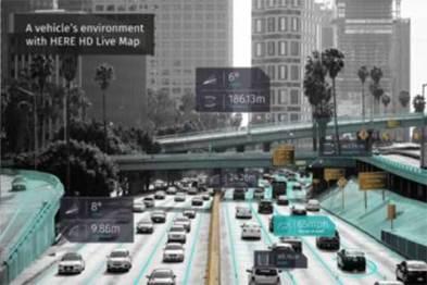 宝马及戴姆勒将为自动驾驶汽车安装HERE高清地图