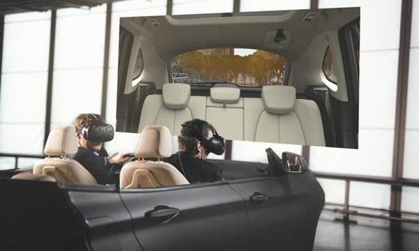 宝马引进虚拟引擎的技术合作开发了一款用于车辆研发的虚拟现实系统