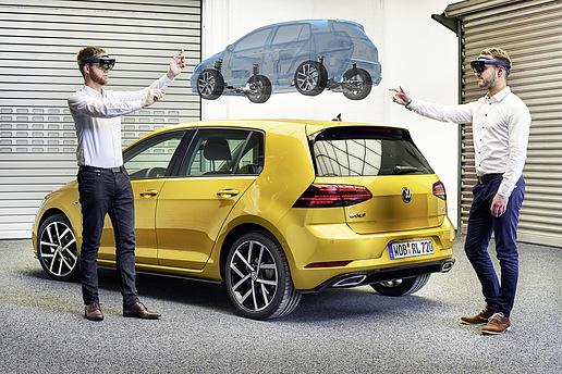 用虚拟现实技术开发汽车