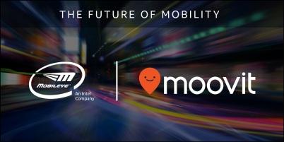 英特尔收购以色列创企Moovit,补足自动驾驶短板