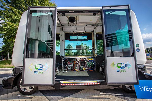 无人驾驶电动巴士WEpod