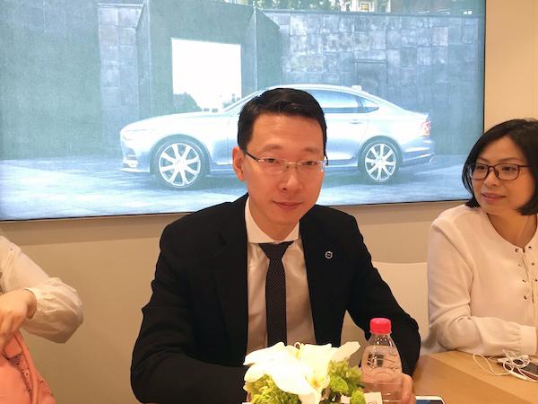 沃尔沃亚太区产品部副总裁吴震皓