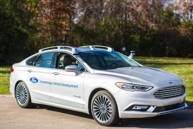 福特宣布将于2018年试销自动驾驶汽车
