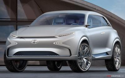 现代汽车下一代燃料电池SUV亮相